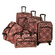 American Flyer Luggage, Clover 5-pc. Spinner Luggage Set