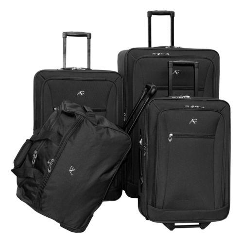 American Flyer Luggage, Brooklyn 4-pc. Wheeled Luggage Set