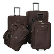 American Flyer Luggage, Brooklyn 4-pc. Wheeled Luggage Set