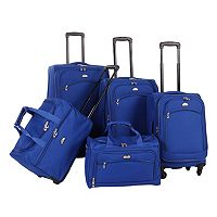 American Flyer South West 5 pc Spinner Luggage Set