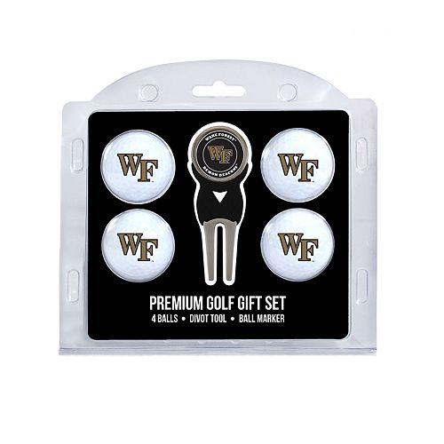 Wake Forest Demon Deacons 6-Piece Golf Gift Set