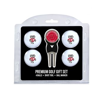 Wisconsin Badgers 6-pc. Golf Gift Set