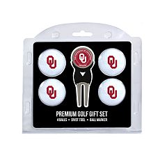 Oklahoma Sooners 6 pc Golf Gift Set