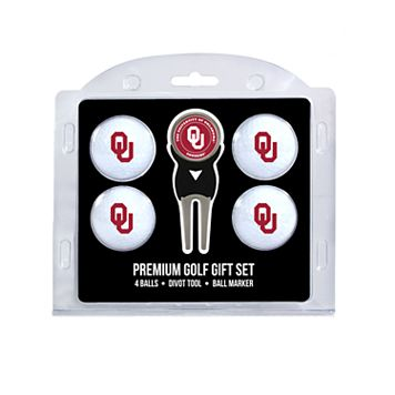 Oklahoma Sooners 6-pc. Golf Gift Set