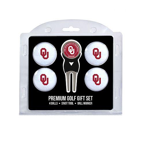 Oklahoma Sooners 6-Piece Golf Gift Set