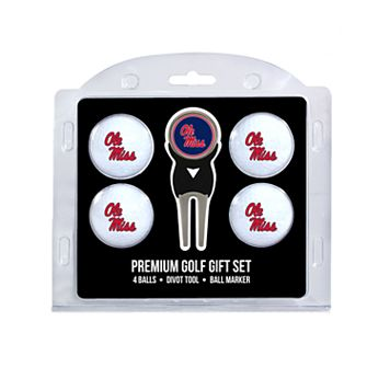 Ole Miss Rebels 6-Piece Golf Gift Set