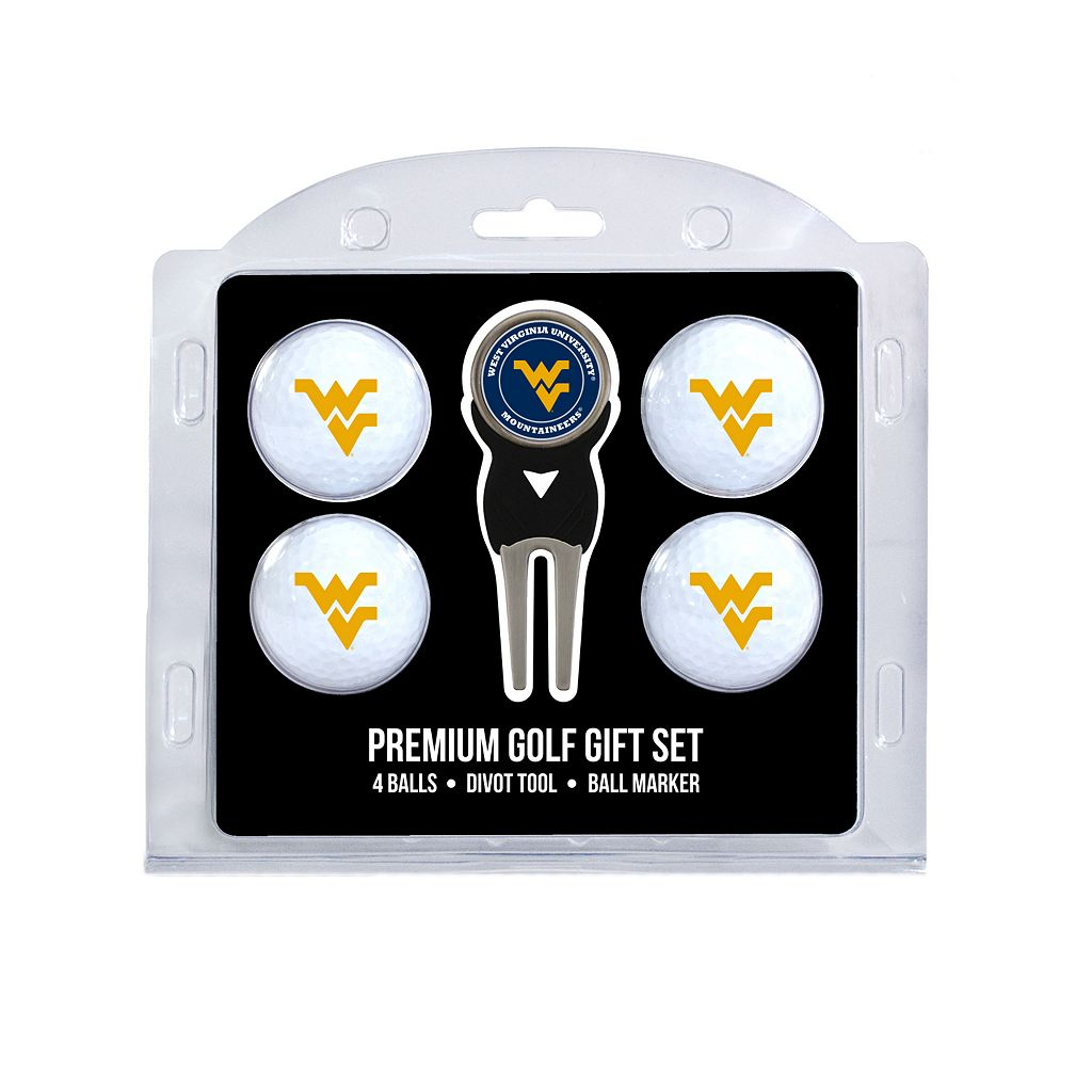 West Virginia Mountaineers 6-pc. Golf Gift Set