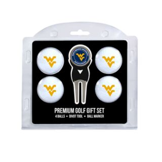 West Virginia Mountaineers 6-Piece Golf Gift Set
