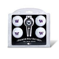 Washington Huskies 6 pc Golf Gift Set