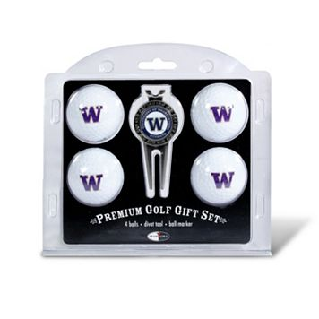 Washington Huskies 6-pc. Golf Gift Set