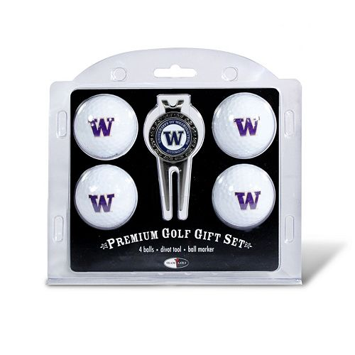 Washington Huskies 6-pc. Golf Gift Set