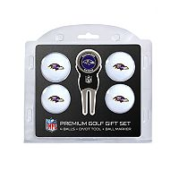 Baltimore Ravens 6 pc Golf Gift Set