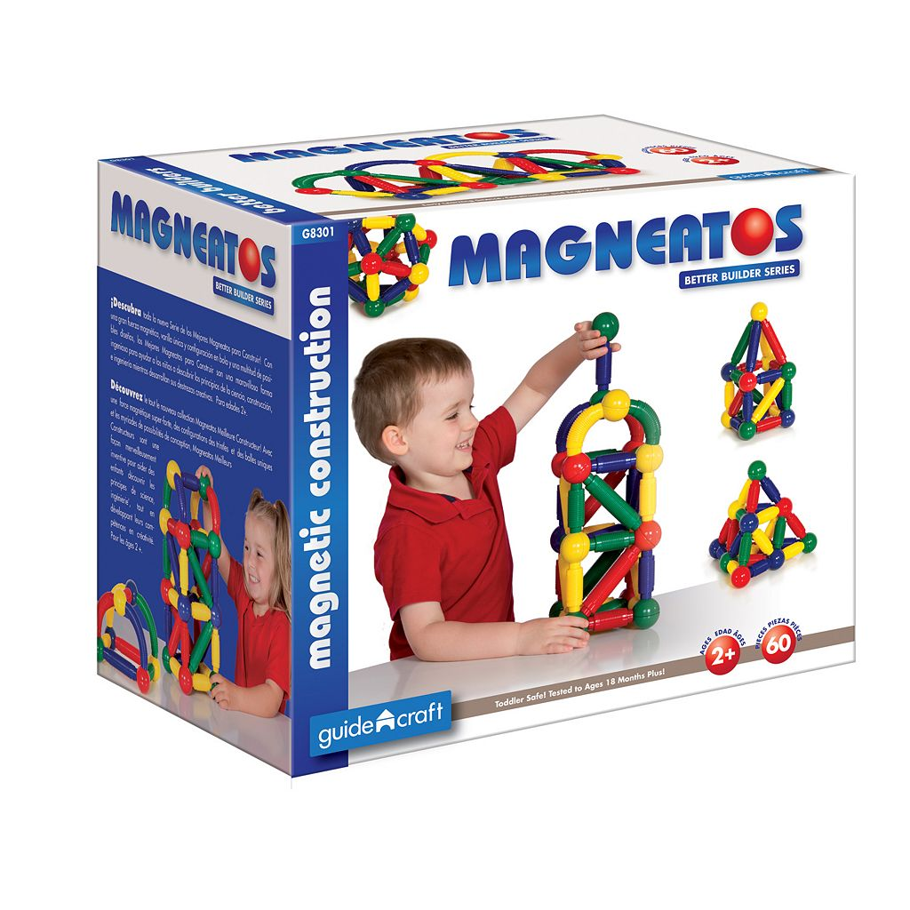 Guidecraft Magneatos Better Builders 60-pc. Set