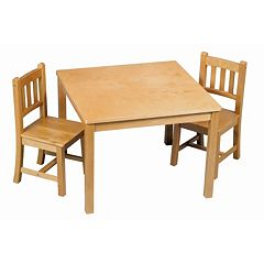 Guidecraft New Mission Table & Chairs Set