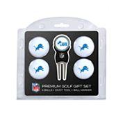 Detroit Lions 6 pc Golf Gift Set