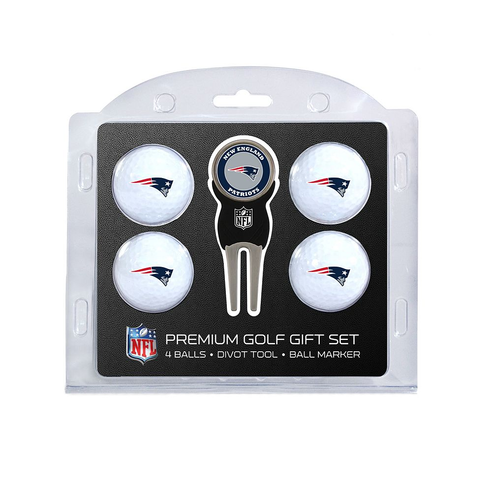 New England Patriots 6-Piece Golf Gift Set