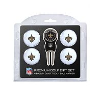 New Orleans Saints 6 pc Golf Gift Set