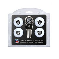 Oakland Raiders 6 pc Golf Gift Set