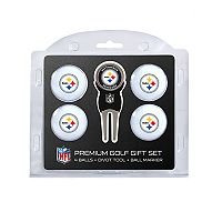 Pittsburgh Steelers 6 pc Golf Gift Set