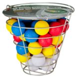 Club Champ Range Bucket & Foam Golf Ball Set