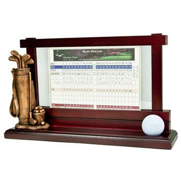 Club Champ Golf Scorecard & Ball Holder
