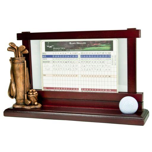 Club Champ Golf Scorecard and Ball Holder