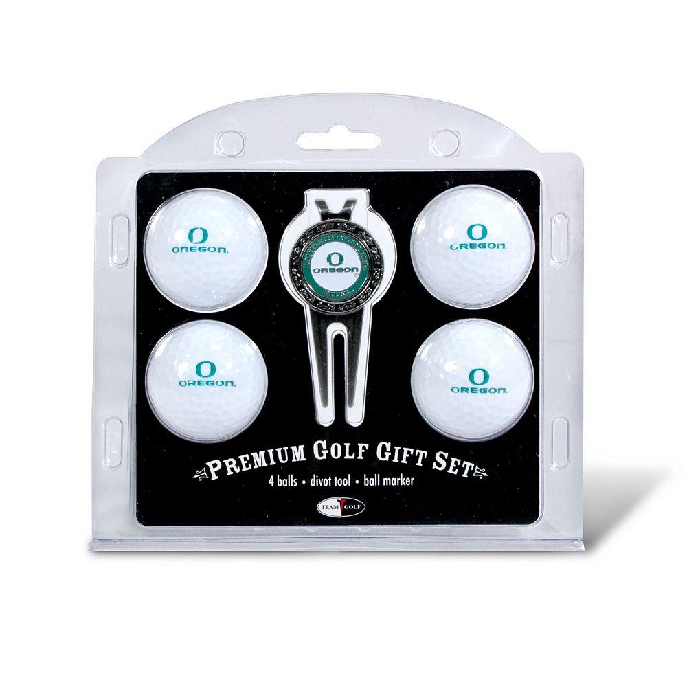 Oregon Ducks 6-pc. Golf Gift Set