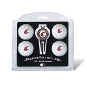 Washington State Cougars 6 pc Golf Gift Set