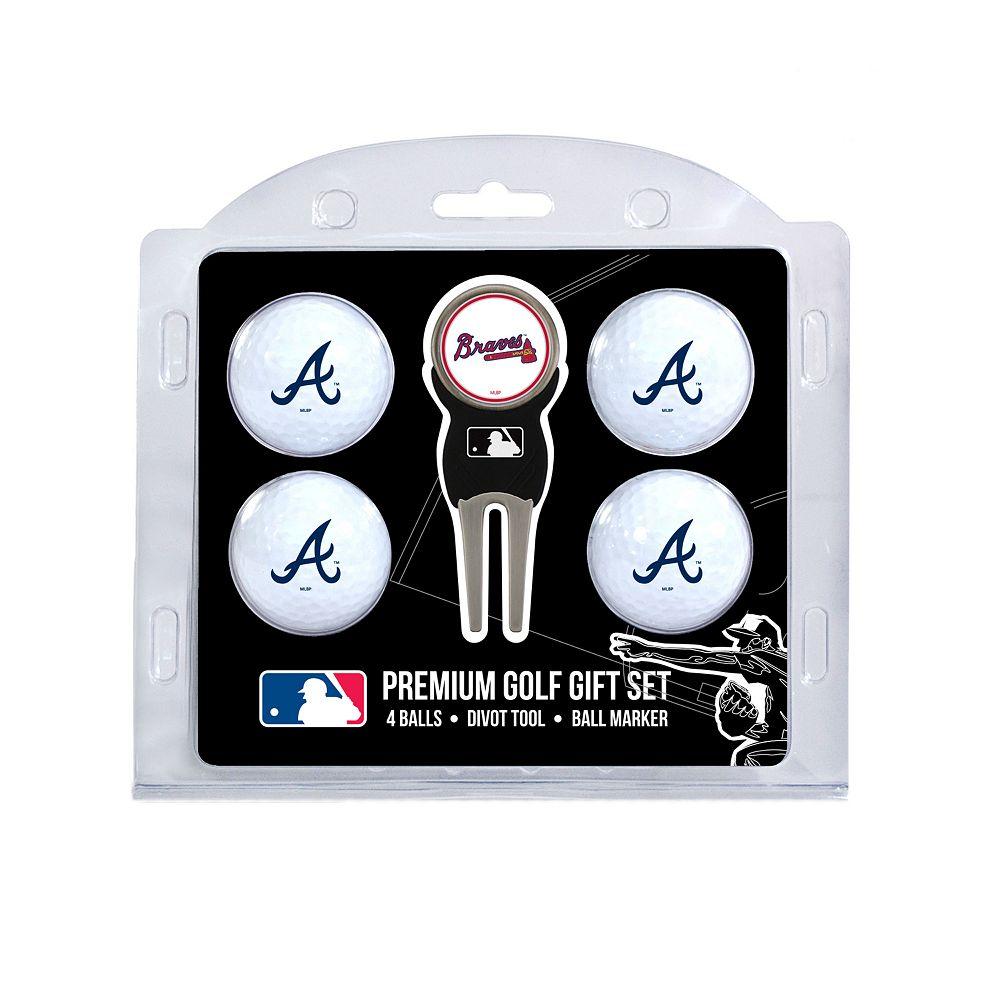 Atlanta Braves 6-Piece Golf Gift Set