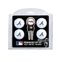 Atlanta Braves 6 pc Golf Gift Set