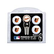 Baltimore Orioles 6 pc Golf Gift Set