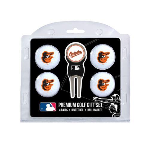 Baltimore Orioles 6-Piece Golf Gift Set