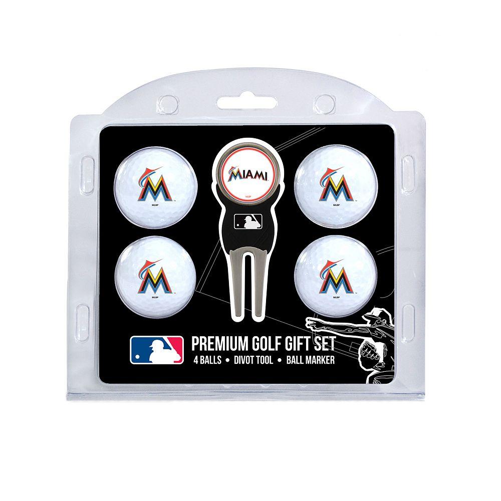 Miami Marlins 6-Piece Golf Gift Set