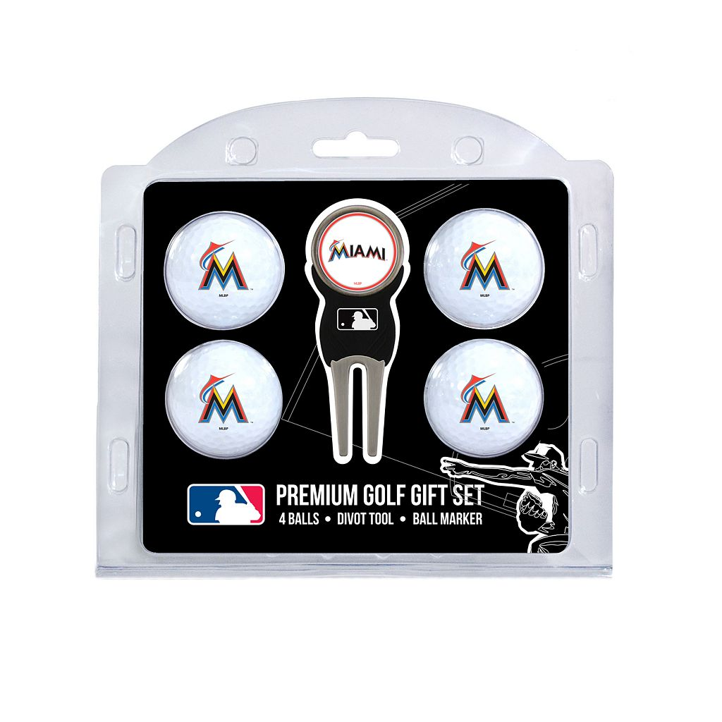 Miami Marlins 6-pc. Golf Gift Set