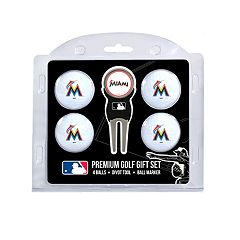 Miami Marlins 6-Piece Golf Gift Set