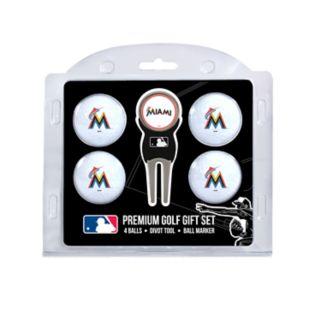 Miami Marlins 6-pc. Golf Gift Set