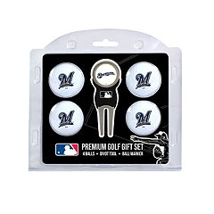 Milwaukee Brewers 6 pc Golf Gift Set