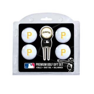 Pittsburgh Pirates 6-Piece Golf Gift Set