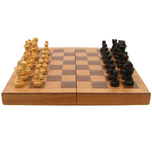 Book-Style Chess Board Set