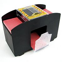 Four-Deck Automatic Card Shuffler