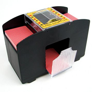 Four-Deck Automatic Card Shuffler