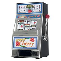 Cherry Bonus Mini Slot Machine & Bank
