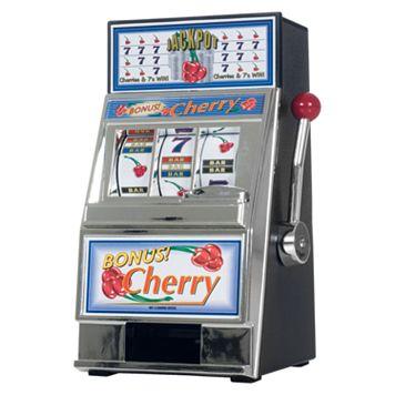 Cherry Bonus Mini Slot Machine & Bank