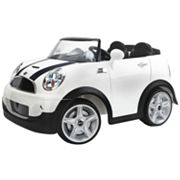 Kid Trax Mini Cooper Electric Convertible Ride-On