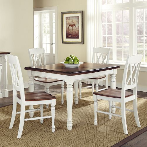 Country Kitchen Table Sets: Monarch 5-pc. Dining Table & Chair Set