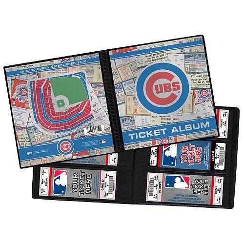 Chicago Cubs Ticket Album