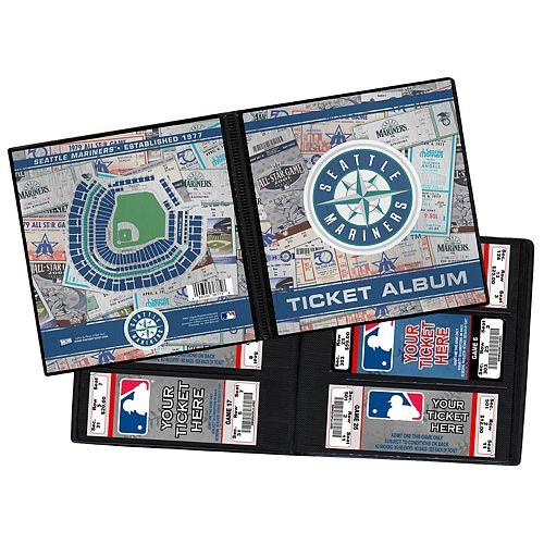 Seattle Mariners Ticket Album