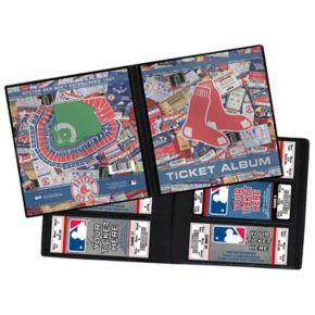 Boston Red Sox Ticket Album