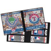 Texas Rangers Ticket Album