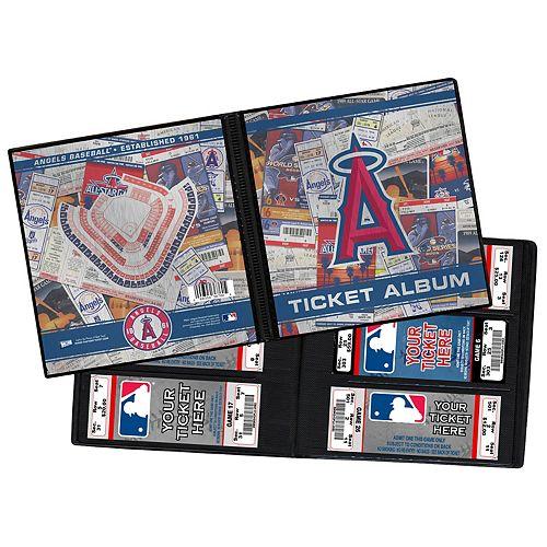 Los Angeles Angels of Anaheim Ticket Album